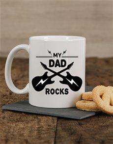 gifts: Personalised My Dad Rocks Mug!
