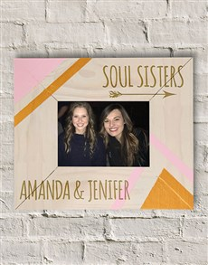 gifts: Personalised Soul Sisters Photo Frame!
