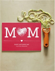 gifts: Personalised Mom Glass Chopping Board!