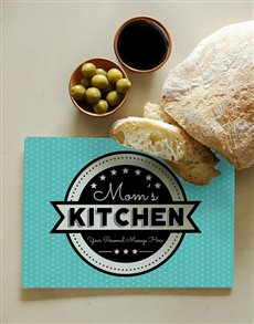 gifts: Personalised Your Kitchen Glass Chopping Board!