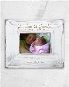 gifts: Personalised Grandma and Grandpa Frame!