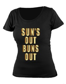 gifts: Personalised Suns Out T Shirt!