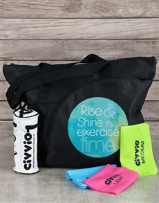 gifts: Personalised  Bag and Resistance Band Kit!