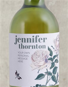gifts: Personalised Rose Bush Wine!