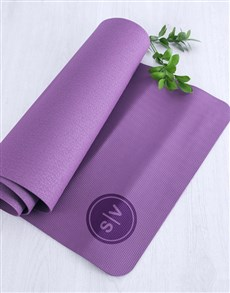 gifts: Personalised Yoga Mat With Initials!