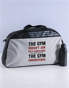 gifts: Personalised The Gym Understands Gym Bag Hamper!