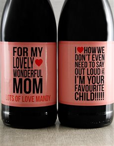 gifts: Mothers Day Personalised Wine Duo!