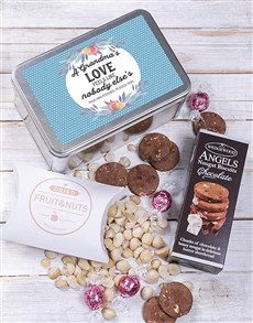 gifts: Personalised Grandma Snack Tin!