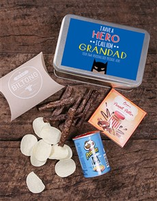 gifts: Personalised Grandpa Snack Tin!