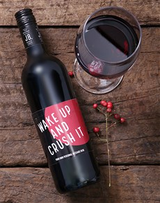 gifts: Personalised Crush It Wine!