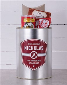 gifts: Personalised Christmas Shield Bro Bucket!
