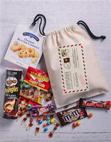 gifts: Personalised Christmas Post Goodie Bag!