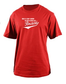 gifts: Personalised We Braai T Shirt!