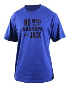 gifts: Personalised Ask Grandpa T Shirt!