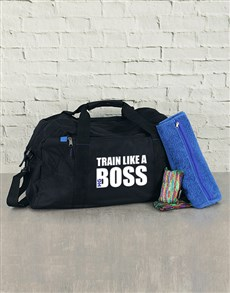 gifts: Personalised Train Like a Boss Kit!