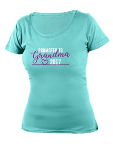 gifts: Personalised Promoted to Grandma T Shirt!