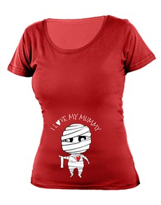 gifts: Personalised Love My Mummy Ladies T Shirt!
