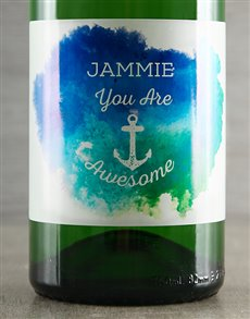 gifts: Personalised Sparkling Wine!