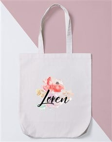 gifts: Personalised Watercolour Tote Bag!