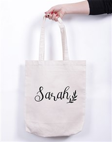 gifts: Personalised Branch Tote Bag!