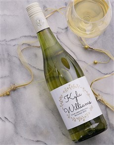 gifts: Personalised Daisychain Wine!