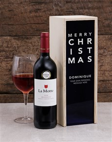 gifts: Personalised Modern Christmas Crate!
