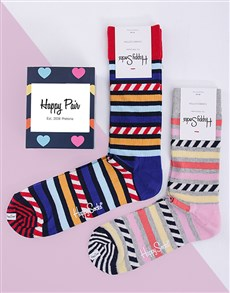 gifts: Personalised His and Hers Happy Socks Giftbox!