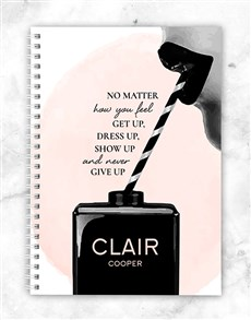 gifts: Personalised No Matter Notebook!
