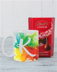 Personalised Colour Splash Mug