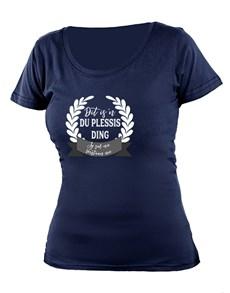 gifts: Personalised Jou Ding Ladies T Shirt!
