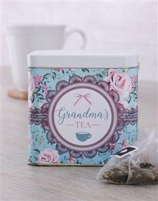 gifts: Personalised Tea Tin for Grandma!