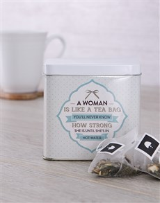 gifts: Personalised Strength Tea Tin!