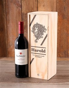 gifts: Lionheart Personalised Booze Crate!