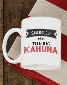 gifts: Personalised Big Kahuna Mug!