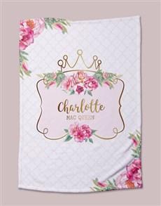 gifts: Personalised Princess Bed Set!