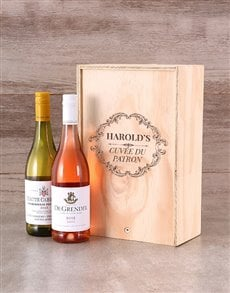 gifts: Personalised Cuvee Du Patron Crate!
