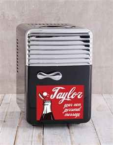gifts: Personalised Cola Desk Fridge!