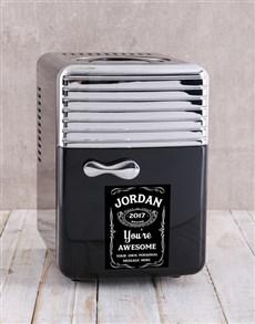 gifts: Personalised Jack Daniels Desk Fridge!
