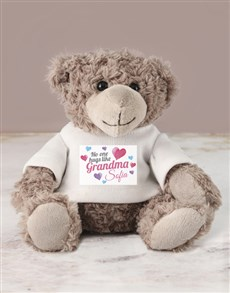 gifts: Personalised Grandma Teddy!