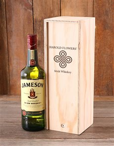gifts: Personalised Jameson Whiskey Crate!