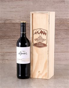 gifts: Personalised Adventure Wine Crate !