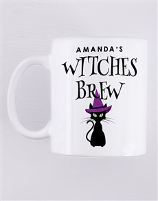 gifts: Personalised Witches Brew Mug!