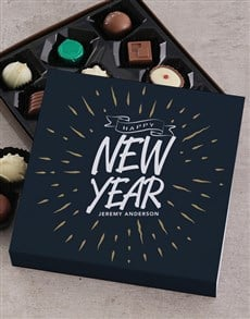 gifts: Personalised Happy New Year Choc Tray!