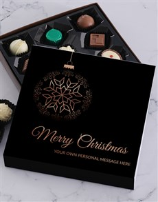 gifts: Personalised Hanging Christmas Choc Tray!