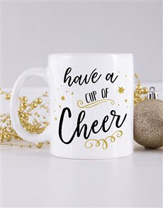 gifts: Personalised Cup of Cheer Mug!