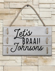 gifts: Personalised Braai Hanging Panels!