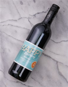 gifts: Happy Birthday To You Personalised Wine!