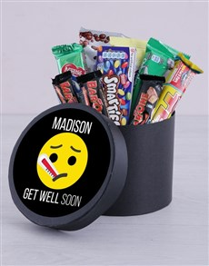 gifts: Personalised Get Well Soon Hat Box!