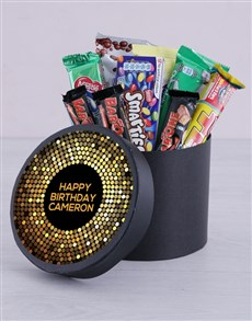 gifts: Personalised Golden Birthday Hat Box!