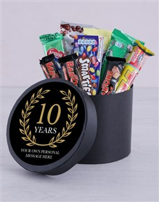 gifts: Personalised Anniversary Hat Box!